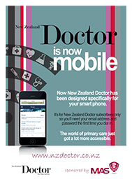 NZD mobile website launch advertising campaign - design and print production
